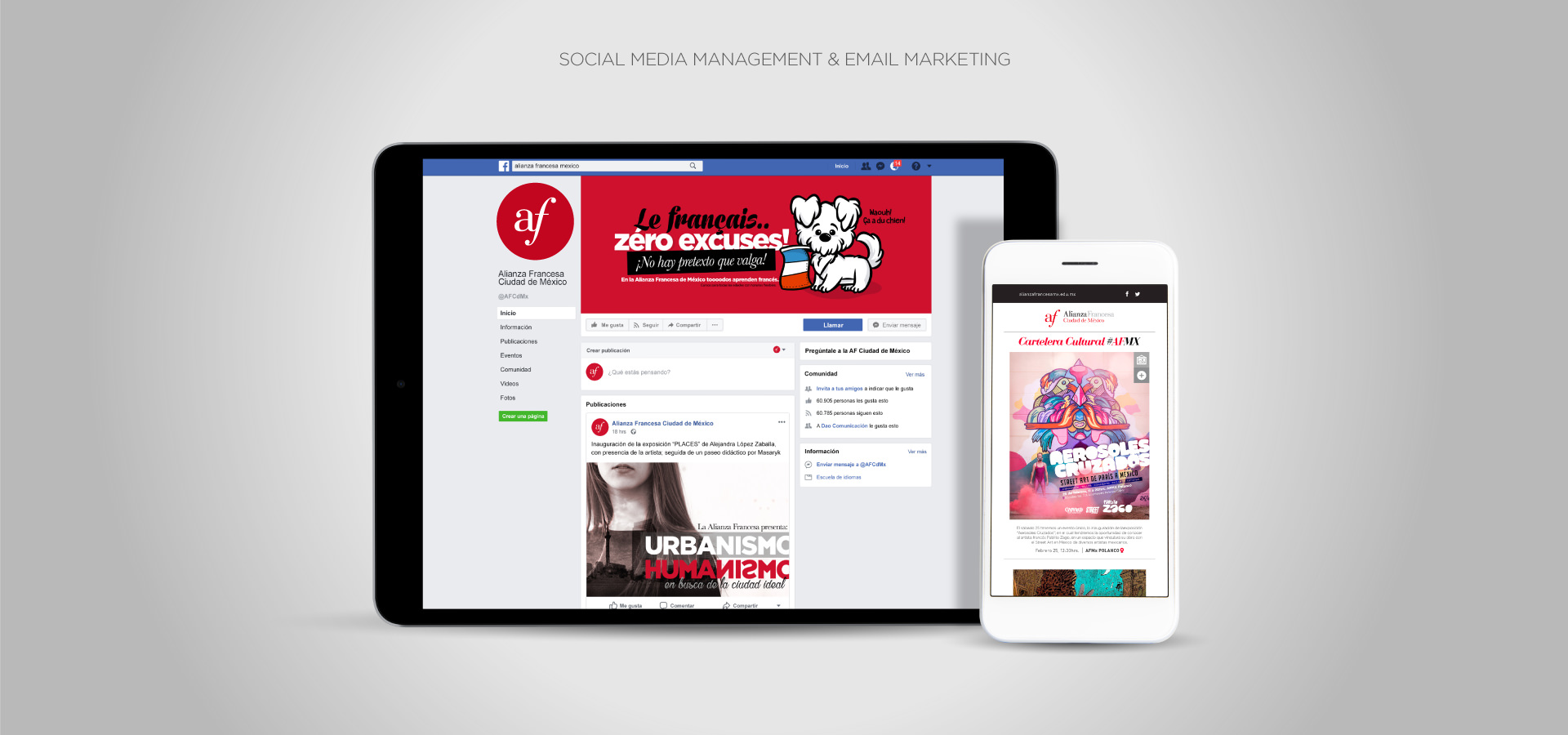 Social Media, Digital & Content Management | Facebook, Instagram, Linkedin | eMail Marketing