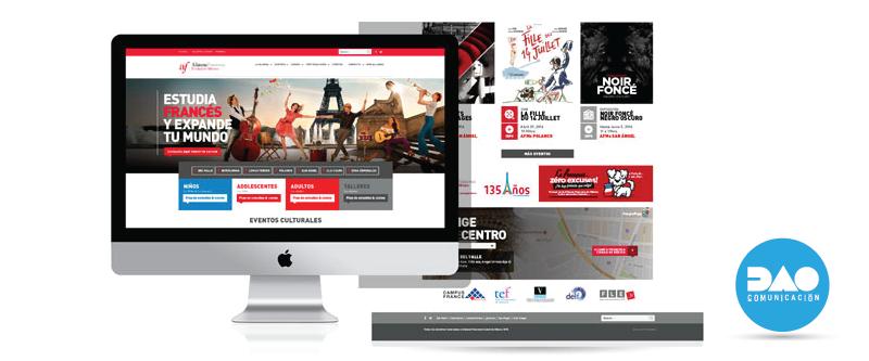 Sitio Web - Alianza Francesa de México